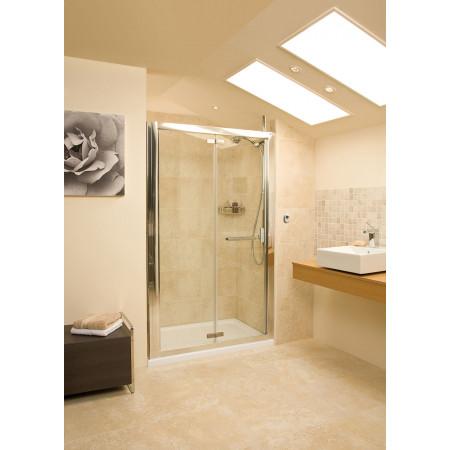 Roman Embrace 800mm Bi Fold Shower Door Ev13s