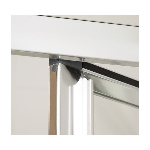 Lakes Bathrooms 800mm Framed Bifold Shower Door