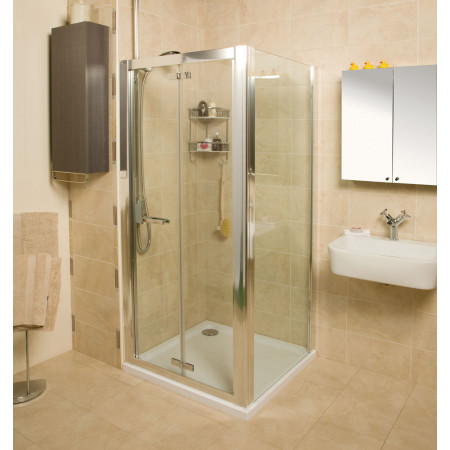 Roman Embrace 900mm Bi-fold Shower Door