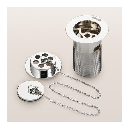 Bristan Luxury Bath Waste With Brass Plug