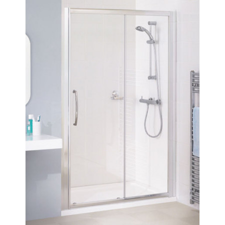 Lakes Bathrooms 1400mm Semi Frameless Sliding Shower Door
