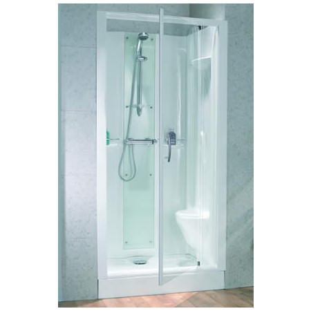 Kinedo Opus 1000x800mm Thermostatic Recess Shower Pod CA111