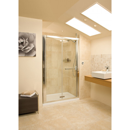 Roman Embrace 1000mm Bi-fold Shower Door