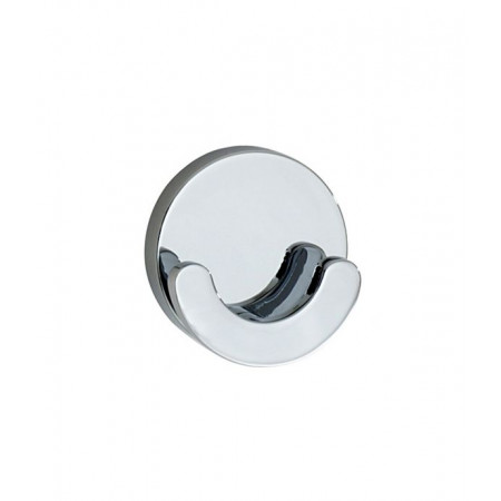 Smedbo Loft Round Double Towel Hook