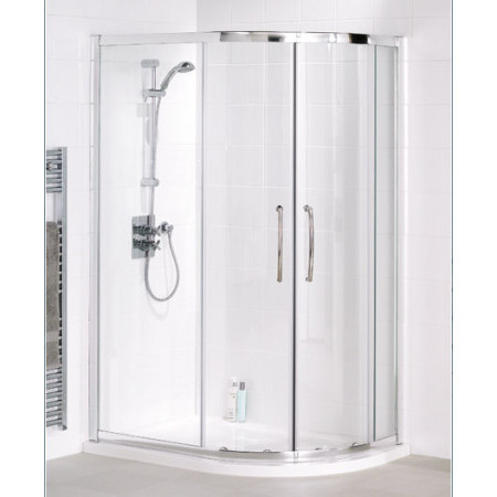Lakes Bathrooms 1200mm x 800mm Offset Quadrant Shower Enclosure