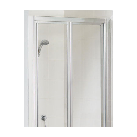 Lakes Bathrooms 900mm Framed Bifold Shower Door