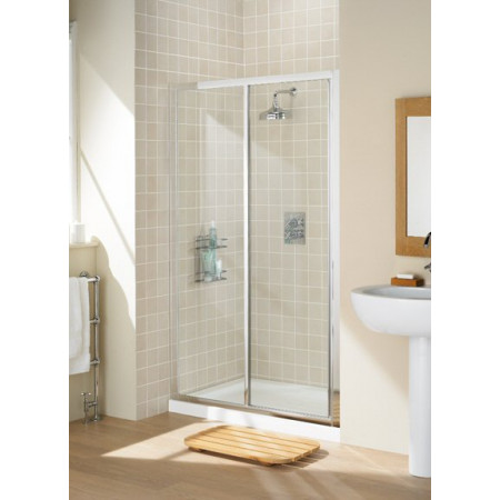 Lakes Bathrooms 1000mm Framed Sliding Shower Door