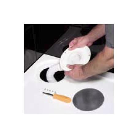 MX Optimum 1400 x 900mm Rectangular shower tray right hand