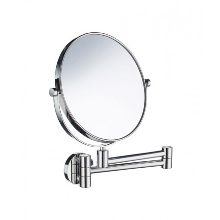 Smedbo Outline Shaving and Make Up Mirror with swing arm