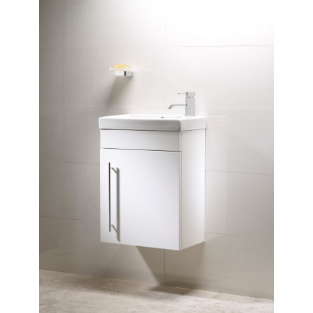 Roper Rhodes Esta 450mm Gloss White Wallmounted Vanity Unit With Basin