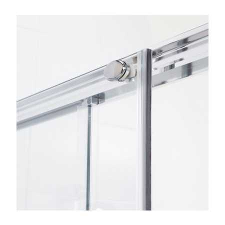 Lakes Bathrooms 1700mm Semi Frameless Sliding Shower Door