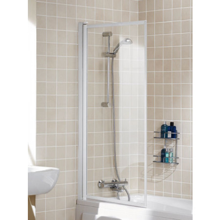 Lakes Folding Bath Screen, 760mm single screen