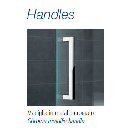 Novellini Kuadra 700mm Hinged Shower Door