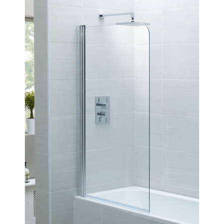 April Identiti 2 Single Bath Screen 800mm