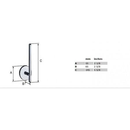 Smedbo Loft Spare Toilet Roll Holder