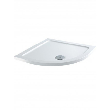 900mm x 900mm Quadrant Lakes Low Profile Shower Tray & Fast Flow Waste