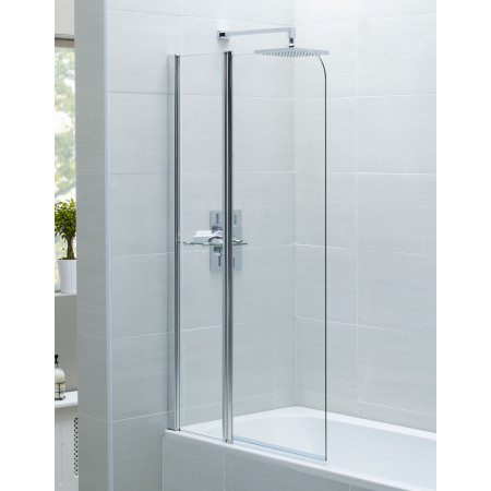 April Identiti 2 Fixed Panel Bath Screen 900mm