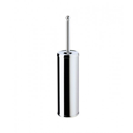 Smedbo Villa Polished Chrome Free Standing Toilet Brush & Container