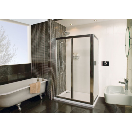 Roman Collage 760mm BiFold Shower Door