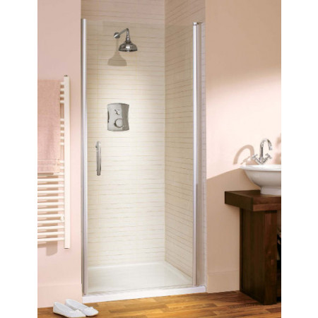 Lakes Italia 900mm Affini Hinged Shower Door