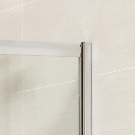April Identiti2 Double Door Quadrant Shower Enclosure 1000mm x 1000mm