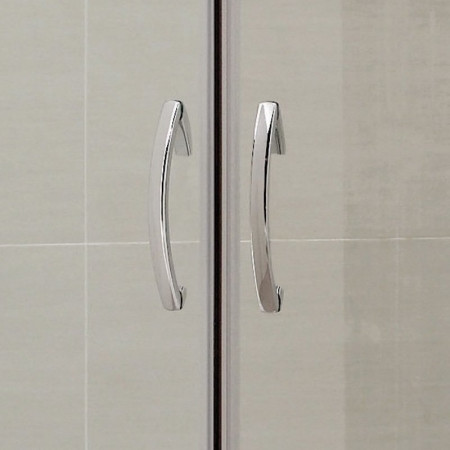 April Identiti2 Double Door Quadrant Shower Enclosure 800mm x 800mm