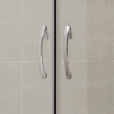 April Identiti2 Double Door Quadrant Shower Enclosure 900mm x 900mm