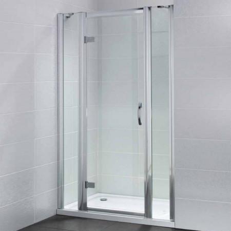 April Identiti2 Hinge Door & 2 In Line Panels 1100mm Enclosure