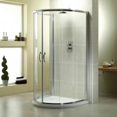 April Identiti2 U Shaped Quadrant Shower Enclosure 915mm x 1040mm