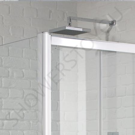 Aquadart Venturi 6 Frameless 900mm Bifold Shower Door