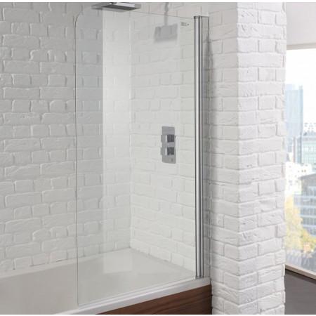 Aquadart Venturi 6 Single Curved 800mm Bath Screen