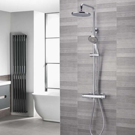 Aqualisa AQ150 Thermostatic Mixer Shower room setting