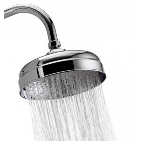 Aqualisa Aquatique Chrome Thermo Concealed Shower Valve with Classic Fixed 8 inch Drencher Shower Head