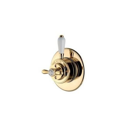Aqualisa Aquatique Gold Thermo Concealed Shower Valve with Classic Fixed 8