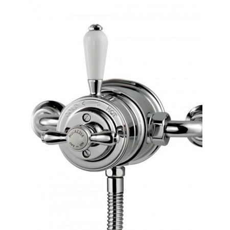 Aqualisa Aquatique Thermo Chrome Exposed Shower Valve