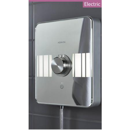 Aqualisa Lumi 10.5kw electric shower chrome