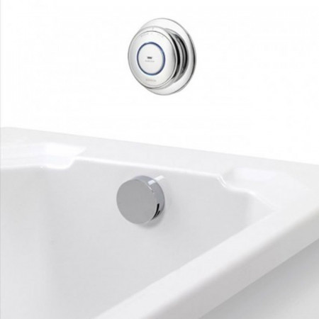 Aqualisa Quartz Digital Bath With Bath Fill Gravity Fed