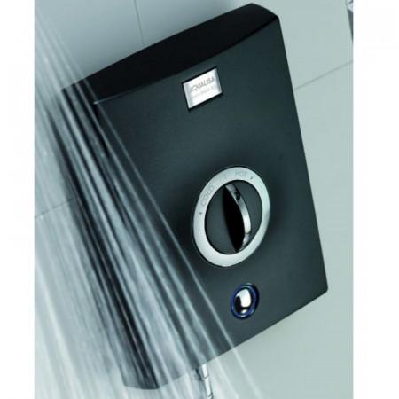 Aqualisa Quartz Graphite 9.5kw Electric Shower close up