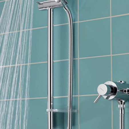 Aqualisa Siren Exposed Shower with Adjustable 90mm Harmony Head