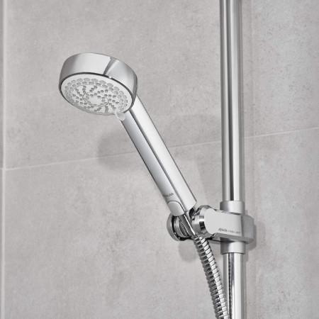 Aqualisa Visage Q Smart Shower Concealed with Adj Head and Bath Fill - Gravity Pumped handset