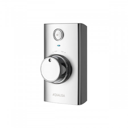 Aqualisa Visage Q Smart Shower Concealed with Fixed Head - Gravity Pumped Controller