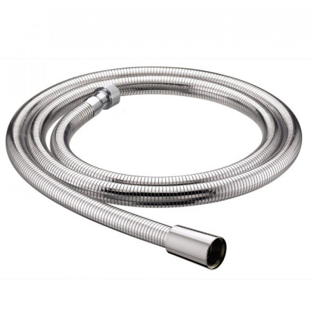 Bristan 1.5m Cone to Nut Lrg Bore Shower Hose Easy Clean Chrome