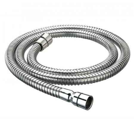Bristan 1.5m Cone to Nut Std Bore Stainless Steel Shower Hose Chrome