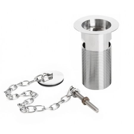 Bristan Basin Waste Chrome Slotted with Plug and Chain