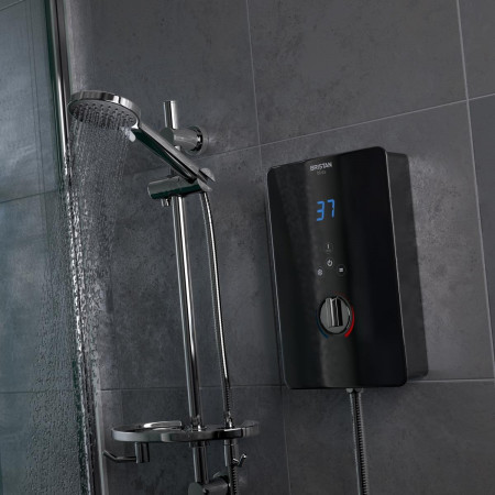 Bristan Bliss 10.5kW Electric Shower Black Finish