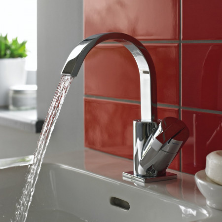 Bristan Chill Basin Mixer without Pop Up Waste live