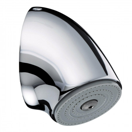 Bristan Commercial Vandal Resistant Fast Fit Fixed Shower Head - Chrome