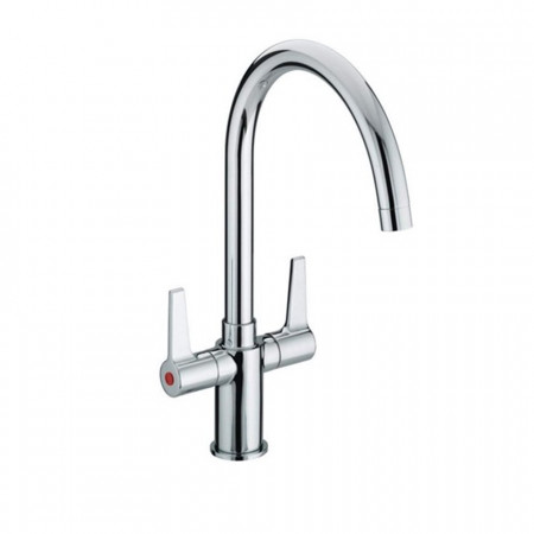 Bristan Design Utility Lever Easy Fit Monobloc Sink Mixer, Chrome Plated
