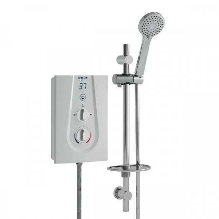 Bristan Glee 10.5kW Electric Shower White Finish