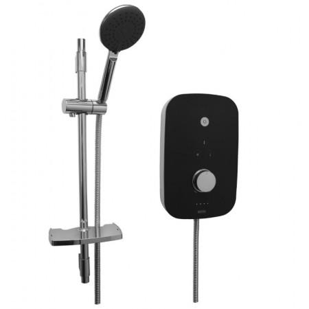 Bristan Noctis Electric Shower 8.5kw Black & Chrome NOC85 BC
